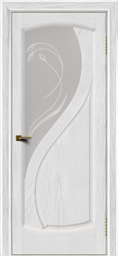 Двери ЛайнДор Новый стиль 2 тон 38 стекло Новый стиль светлое