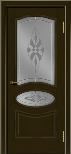 Двери ЛайнДор Оливия тон 35 стекло Византия