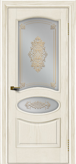 Двери ЛайнДор Оливия тон 36 стекло Дамаск