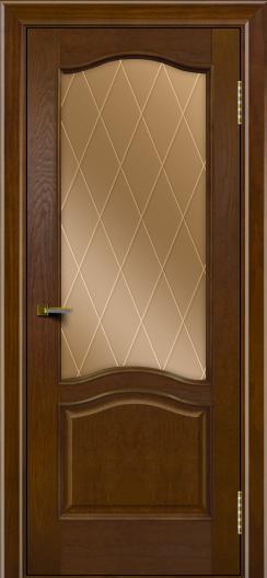Двери ЛайнДор Пронто тон 30 стекло Лондон бронза