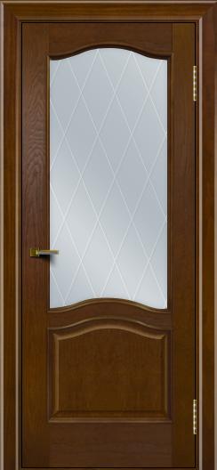 Двери ЛайнДор Пронто тон 30 стекло Лондон