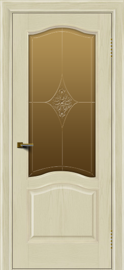 Двери ЛайнДор Пронто тон 34 стекло Амелия бронза