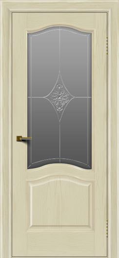 Двери ЛайнДор Пронто тон 34 стекло Амелия