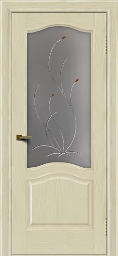 Двери ЛайнДор Пронто тон 34 стекло Ковыль