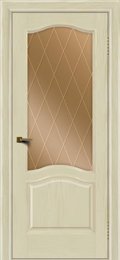 Двери ЛайнДор Пронто тон 34 стекло Лондон бронза