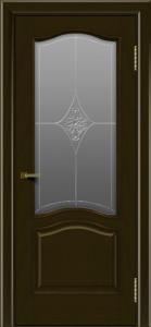 Двери ЛайнДор Пронто тон 35 стекло Амелия