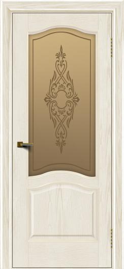 Двери ЛайнДор Пронто тон 36 стекло Айрис бронза