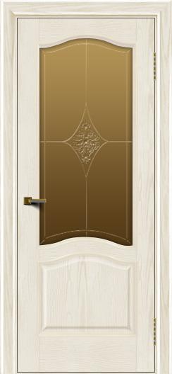 Двери ЛайнДор Пронто тон 36 стекло Амелия бронза