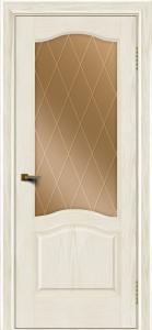 Двери ЛайнДор Пронто тон 36 стекло Лондон бронза