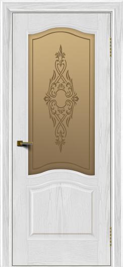 Двери ЛайнДор Пронто тон 38 стекло Айрис бронза