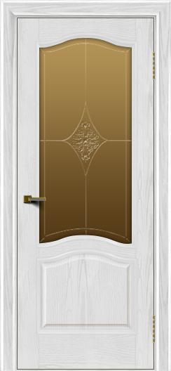 Двери ЛайнДор Пронто тон 38 стекло Амелия бронза