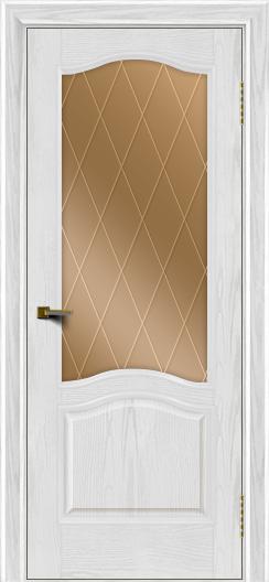 Двери ЛайнДор Пронто тон 38 стекло Лондон бронза