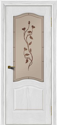 Двери ЛайнДор Пронто тон 38 стекло Маки
