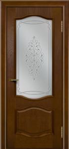 Двери ЛайнДор София тон 30 стекло Вива
