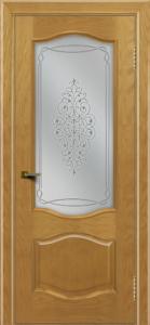 Двери ЛайнДор София ясень тон 24 стекло Вива