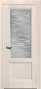 Двери ЛайнДор Эстела жемчуг тон 27 стекло Волна