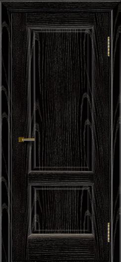 Двери ЛайнДор Эстела эмаль черная тон 26 глухая