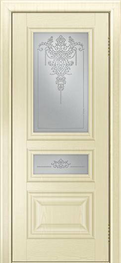Двери ЛайнДор Агата тон 42 стекло Версаль