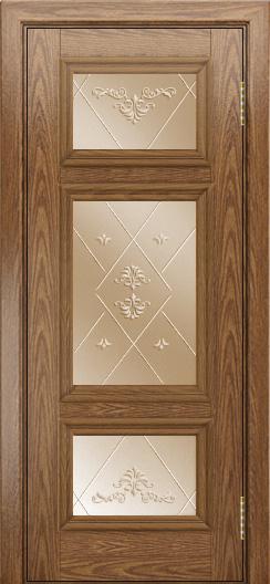 Двери ЛайнДор Афина тон 45 стекло Прима бронза