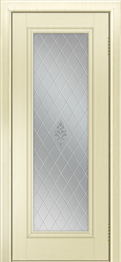 Двери ЛайнДор Валенсия тон 42 стекло Лилия