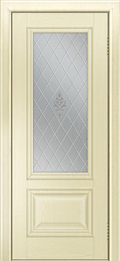 Двери ЛайнДор Виолетта тон 42 стекло Лилия