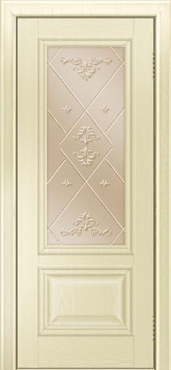 Двери ЛайнДор Виолетта тон 42 стекло Прима бронза