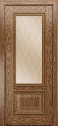 Двери ЛайнДор Виолетта тон 45 стекло Лондон бронза
