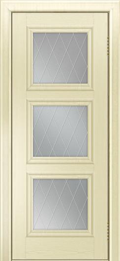 Двери ЛайнДор Грация тон 42 стекло Лондон