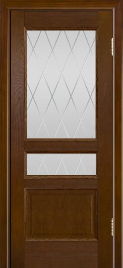 Двери ЛайнДор Калина-К тон 30 стекло Лондон