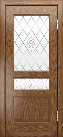Двери ЛайнДор Калина-К тон 45 стекло Лилия