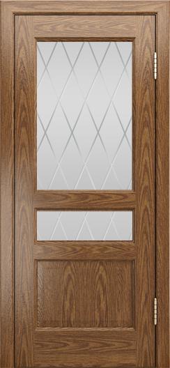Двери ЛайнДор Калина-К тон 45 стекло Лондон