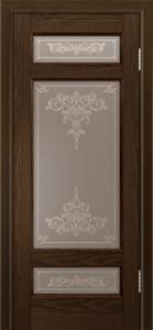 Двери ЛайнДор Мишель-К тон 35 стекло Лира шелкография