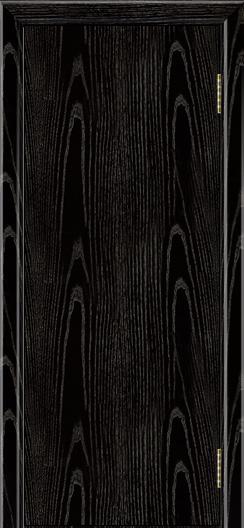 Двери ЛайнДор Ника 2 черная эмаль тон 26