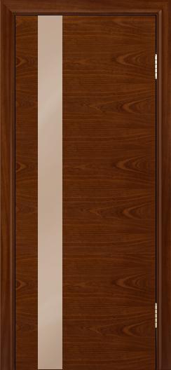 Двери Лайндор Камелия К5 тон 10 стекло Серо-коричневое