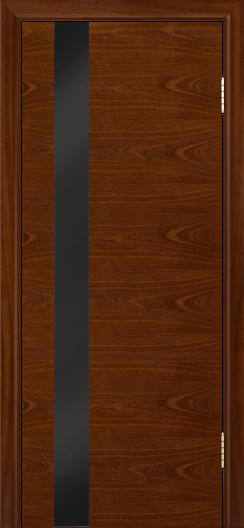 Двери Лайндор Камелия К5 тон 10 стекло Черное