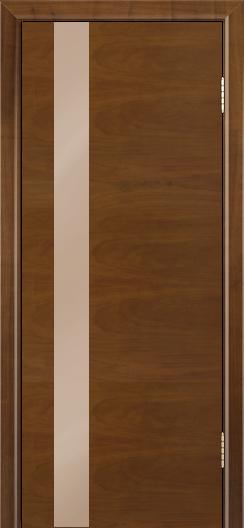 Двери Лайндор Камелия К5 тон 23 стекло Серо-коричневое
