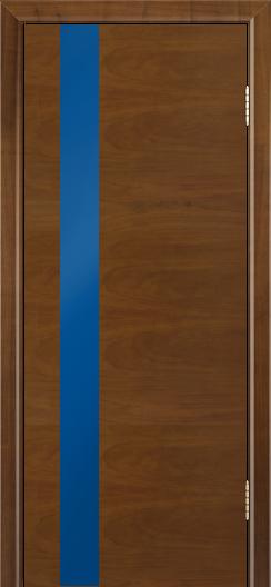 Двери Лайндор Камелия К5 тон 23 стекло Синее