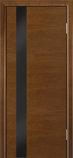 Двери Лайндор Камелия К5 тон 23 стекло Черное