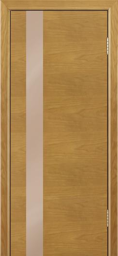 Двери Лайндор Камелия К5 тон 24 стекло Серо-коричневое