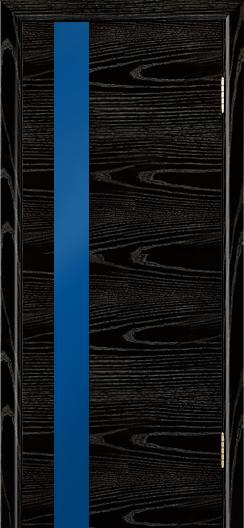 Двери Лайндор Камелия К5 тон 26 стекло Синее