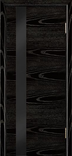 Двери Лайндор Камелия К5 тон 26 стекло Черное
