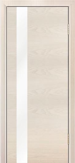 Двери Лайндор Камелия К5 тон 27 стекло Белое