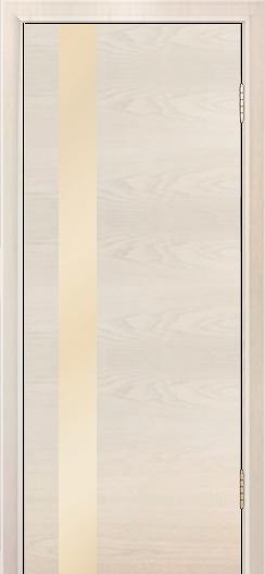 Двери Лайндор Камелия К5 тон 27 стекло Светло-бежевое