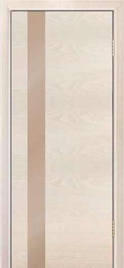 Двери Лайндор Камелия К5 тон 27 стекло Серо-коричневое