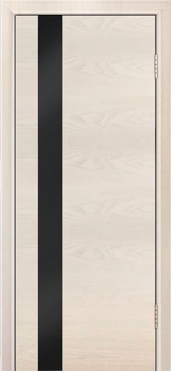 Двери Лайндор Камелия К5 тон 27 стекло Черное