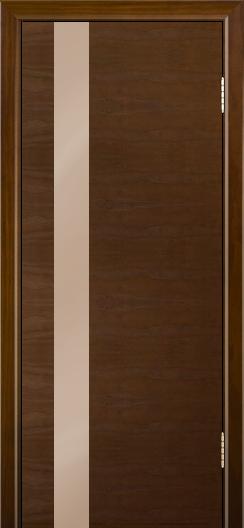 Двери Лайндор Камелия К5 тон 30 стекло Серо-коричневое
