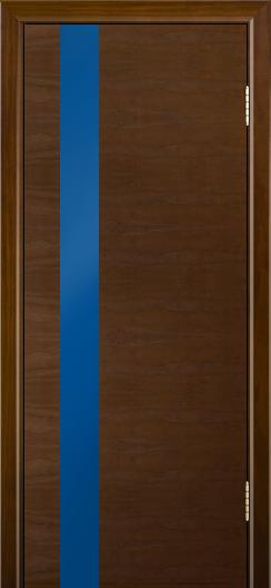 Двери Лайндор Камелия К5 тон 30 стекло Синее
