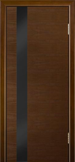 Двери Лайндор Камелия К5 тон 30 стекло Черное