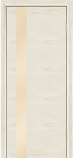 Двери Лайндор Камелия К5 тон 34 стекло Светло-бежевое
