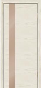 Двери Лайндор Камелия К5 тон 34 стекло Серо-коричневое